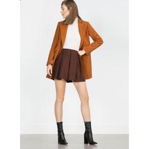 Zara Pleated Mini Skirt NWT!